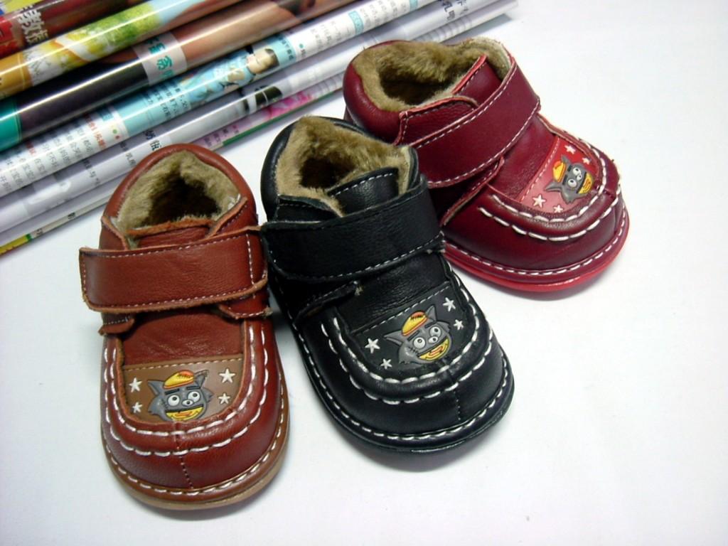 学步棉皮鞋