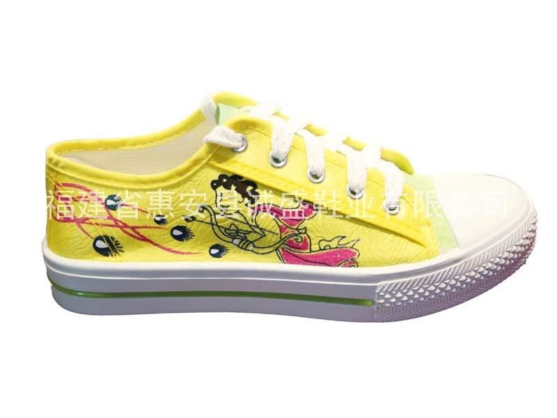 诚盛→女帆布鞋 CS-142