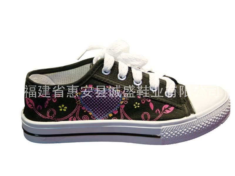 诚盛→女帆布鞋 CS-135