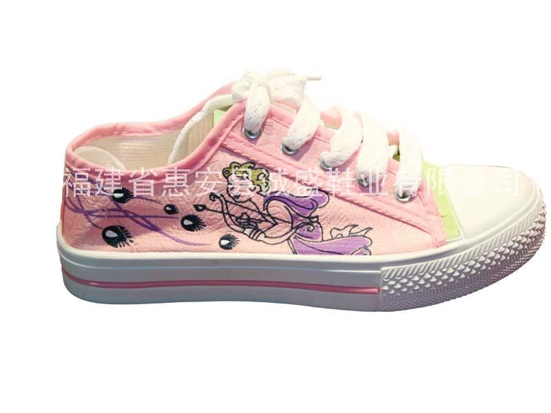 诚盛→女帆布鞋 CS-142-1