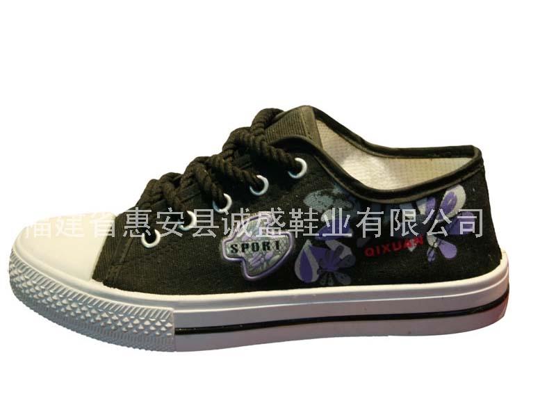 诚盛→女帆布鞋 CS-151