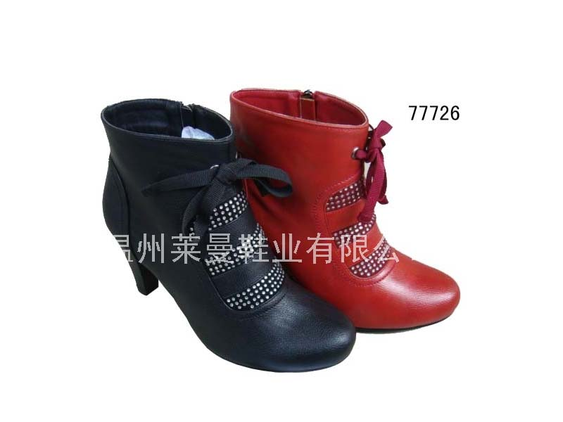 莱曼→时尚短靴 77726
