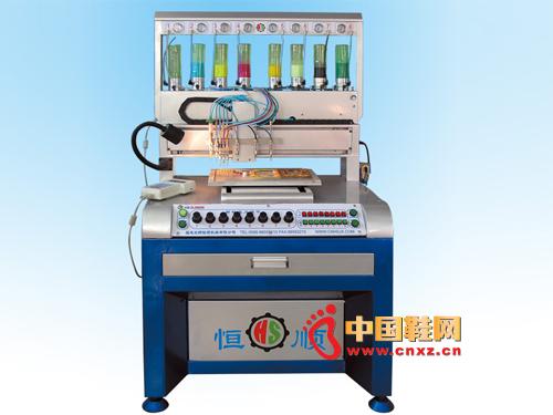 恒顺HS-DJ5880型8色全自动滴塑机新品上市