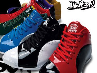 艾弗森时尚运动鞋,07新款上市