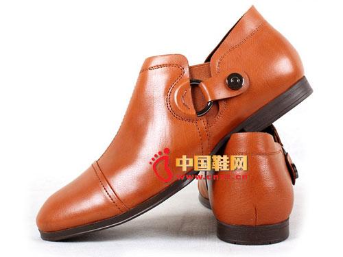 westlink/西遇W0121970 牛皮真皮时尚商务绅士经典一脚蹬皮鞋