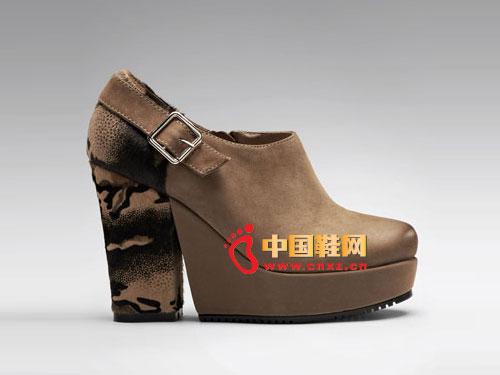 超人气复古潮流厚底增高女鞋