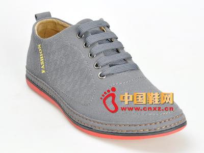 福联升老北京布鞋 简约经典款系绳男士休闲运动鞋