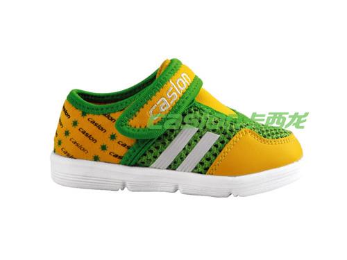 卡西龙童休闲鞋透气系扣舒适童鞋MB113X1663-01