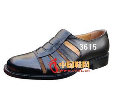 男式夏季休闲皮鞋