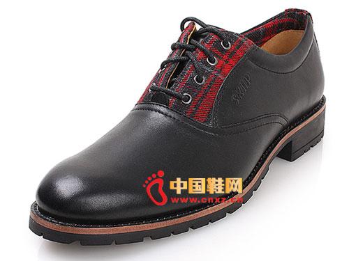 > skap2012秋冬新品商务飞机轮胎橡胶底男鞋20210511
