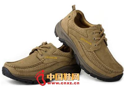 香港 舒适 皮鞋 棕色 休闲 a7947 2012jeobow 鞋子/2012jeobow棕色软底舒适休闲皮鞋A7947