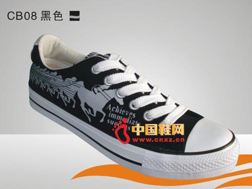 黑色 系带/远步布鞋黑色系带休闲硫化鞋C......