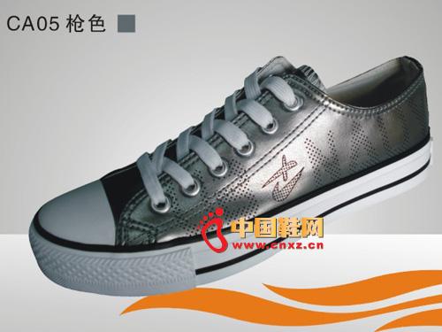 灰色 系带/远步布鞋灰色系带休闲硫化鞋C......