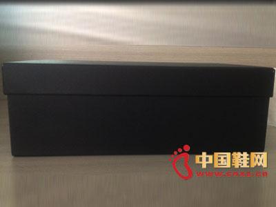 伟盈精致鞋盒包装新品黑色系列 0206