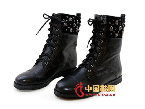 贝尔/金蒂贝尔时尚女鞋 2012黑...