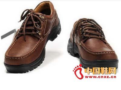 男士 新款 皮鞋/2012jeobow新款深棕色男士时尚休闲皮鞋