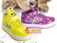儿童 晋江市/酷乐熊荧光色魔术扣儿童必备舒适休闲鞋01