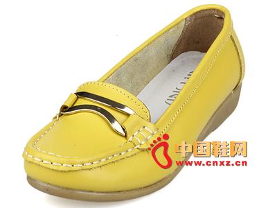孕妇 妈妈 都市/都市情人2013新品牛皮休闲平底孕妇大码女单鞋妈妈鞋