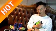 陈奕迅尝试设计 参与JS WINGS花鞋制作