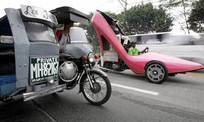 是鞋子还是车子?世上最酷的鞋车猎奇_鞋业资
