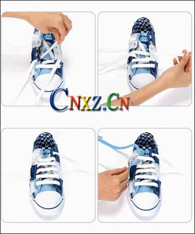 潮人图解:滑板鞋带花式新系法