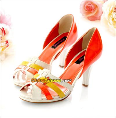可爱感十足的鞋子 春夏必备