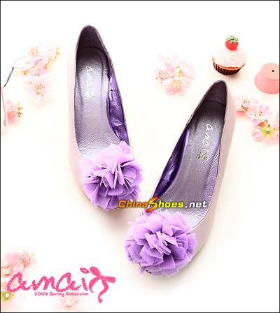 蝴蝶结单鞋 成就可爱女人