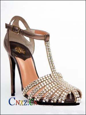 奢华唯美水晶高跟鞋 灰姑娘变公主