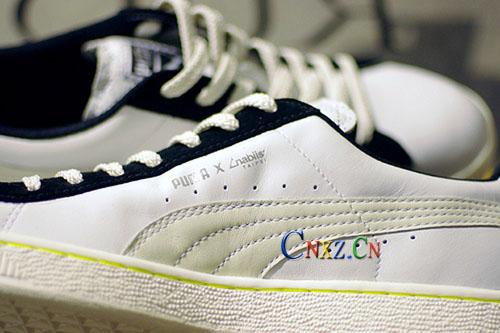 puma 合作球鞋