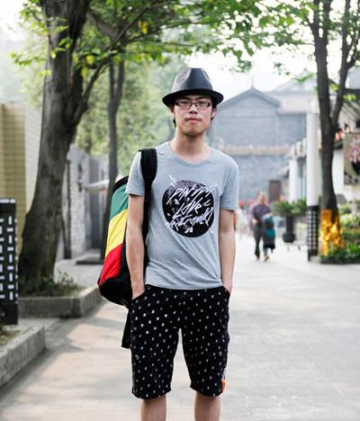 街拍上海男生钟爱的帽子造型