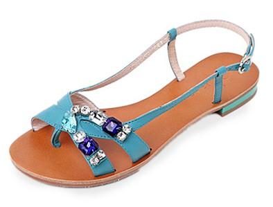 夏日魅力 时尚平底凉鞋