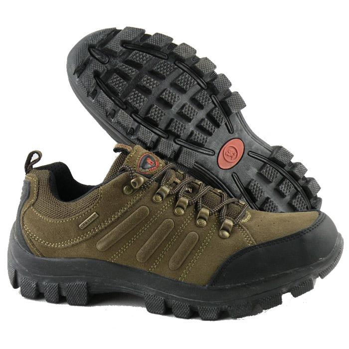 户外登山鞋低帮鞋骆驼
