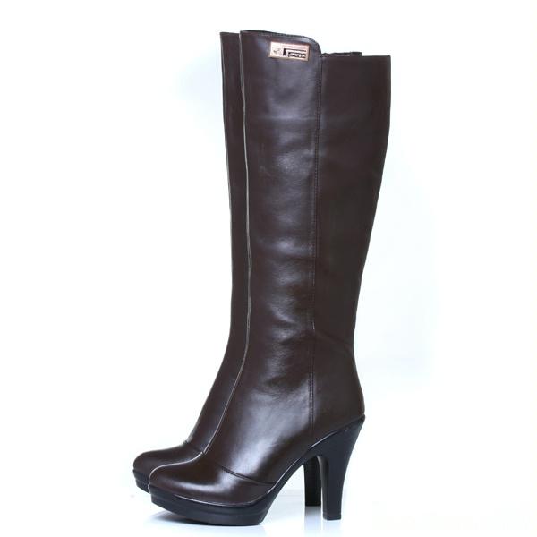 小女童真皮靴子 女童冬靴子童靴真皮
