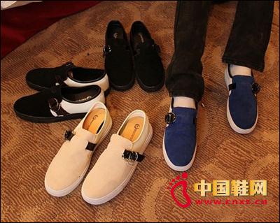 潮流懒人鞋一脚蹬 ,四色低帮休闲鞋子