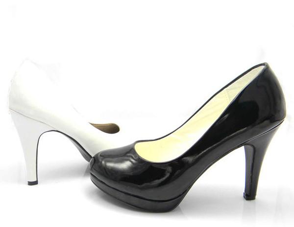 女士职场高跟鞋 女士深口单鞋高跟鞋