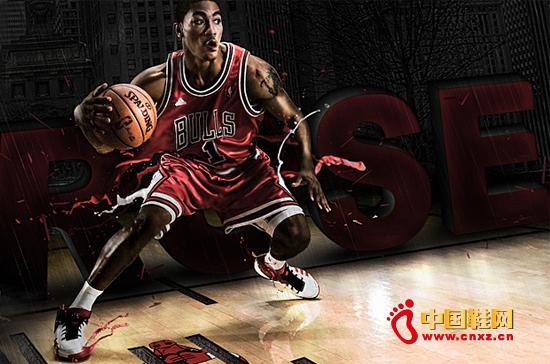 adidas2.5亿美元签约NBA球星ROSE图片