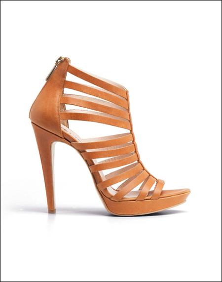 罗马高跟凉鞋