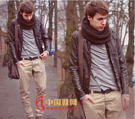 男人穿衣经 撞色更时尚;