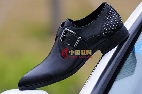 靡菲休闲皮鞋(4)