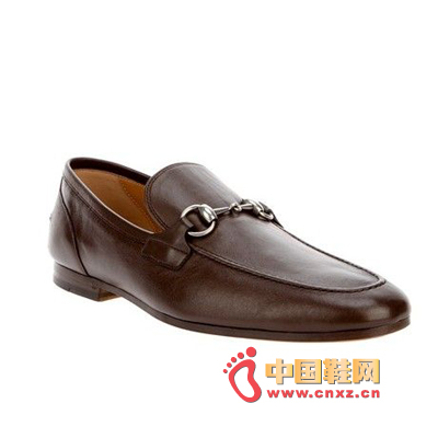 gucci 棕色浅口皮鞋 rmb