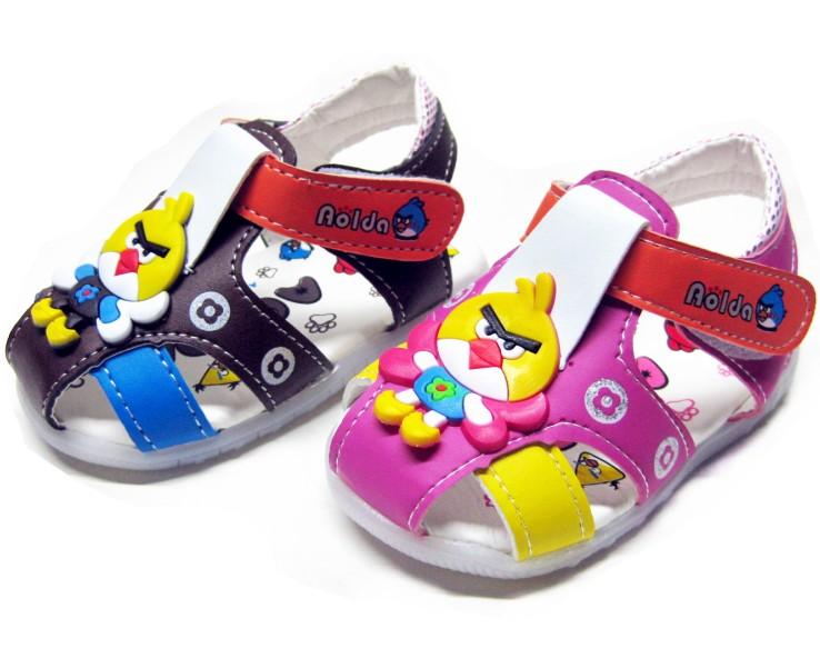 带灯 宝宝鞋