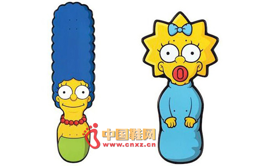 santa cruz x the simpsons辛普森家庭款联名滑板