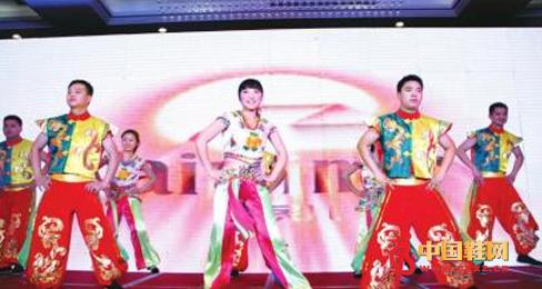 鞋业表演舞蹈《最炫民族风》