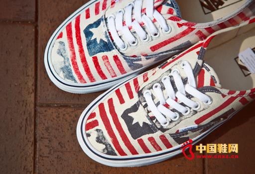 vans发布美国国旗复古鞋款纪念滑板界传奇人物
