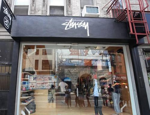 Stussy台湾直营专门店-街头搜店